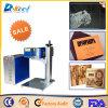 Máquina de la marca del laser de la fibra para el anillo, Plastis, el PVC, el metal y el no metal