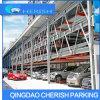 4-6 sistema nivelado do estacionamento do carro do enigma