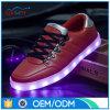 工場価格PU上部LEDの人の女性の偶然靴
