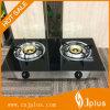 2 газовой плиты пламени Ss латунных крышки горелки стеклянных верхних супер (JP-GCG207S)