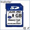 Tarjeta de memoria de alta velocidad de la clase 10 8GB SD (8GB SD)