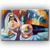 Pintura al óleo moderna de Wall Art Nude en Canvas (KLNA-0010)