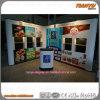 Booth emergente com PVC Graphics & Shelves