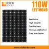 батарея модуля 12V панели солнечных батарей 110W Monocrystalline сь
