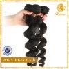 6A-grado 100% flojo indio de la Virgen del pelo humano de la onda de la extensión del pelo