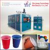 Macchina di fabbricazione di piatto di plastica con l'idraulico della camma o