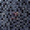 レトロ様式の黒の石の組合せの水晶モザイク・タイル(CS014)