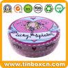 Round Lipstick and Mascara Cream Metal Tin Boxes