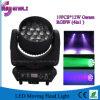 éclairage principal mobile de 19PCS RGBW LED pour l'étape