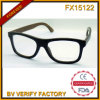 Bâti en bois fait sur commande des lunettes de soleil UV400 du chat 3 de la qualité Fx15122