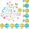 servilletas de vector de papel de los 33*33cm Elsa Ana