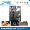 Pulp automática botellas de zumo de relleno de plástico