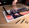 Casella chiara del blocco per grafici di cristallo della foto del LED
