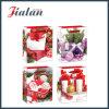 bolsa de papel laminada brillante de embalaje de los regalos de la Navidad del papel revestido 128GSM