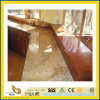 Qualité Polished Butterfly Beige Marble Countertop pour Kitchen/Bathroom (YQC)