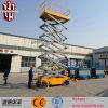 Type hydraulique levage de ciseaux de plate-forme de fonctionnement