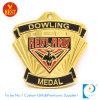Medaglia poco costosa personalizzata di onore dell'oro del ricordo del metallo