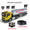 DVR móvel, 4CH H. 264 Car DVR Kit, Backup, G-Sensor, 4 Channel Truck /Bus Security DVR Kit