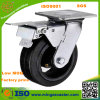 Waste resistente Container Black Rubber Caster Wheel con Brake