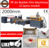 PE Air Bubble Film Machinery de 2000mm 2 Layers