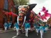 Festival-Feiertags-Dekoration-aufblasbarer Elefant für im Freien
