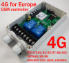 4G/3G/GM/M Remote Controller avec Double Big Power Relay Output pour l'Europe