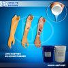 Il membro artificiale fatto dalla gomma di silicone della Life Casting usata per ha reso invalido
