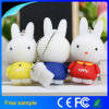 Le flash Miffy de lapin de dessin animé de PVC conduit le disque de mémoire Flash d'USB 2.0