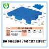 grande pálete plástica usada do armazenamento do dever 1400X1100 manufatura média