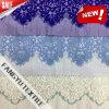 Tessuto di lavoro a maglia del merletto del filo di ordito per l'indumento
