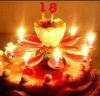 Soem Selbst-Öffnen Blumen-Kuchen-Kerze