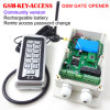 GSM Version GateおよびDoor Access Controller、Remote Keypad Password Change