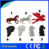 Kundenspezifische Karikatur 3D Pferd geformte Kurbelgehäuse-Belüftungusb-Blitz-Laufwerke