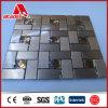 Carreau de céramique composé en aluminium de panneau de mur de mosaïque auto-adhésive ACP