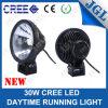 Diodo emissor de luz 12V Car Lamp 9 Inch DRL Auto Headlight