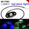 Paquet imperméable à l'eau Light Kit de Tail Light IP68 Boat DEL de paquet de White Red Orange Blue 12V 24V