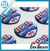 Etiqueta engomada resistente ULTRAVIOLETA modificada para requisitos particulares de la resina de epoxy con su diseño
