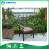 옥외 주조 알루미늄 안뜰 가구 정원 안뜰 의자 (FY-012ZXC)를 입히는 분말