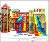 Campo de jogos interno dos miúdos grandes do divertimento do elogio