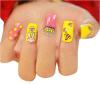 Стикеры ногтя стикеров искусствоа ногтя симпатичной конструкции водоустойчивые