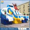 Diapositiva de agua inflable gigante popular 2016 para el adulto y los cabritos, diapositivas inflables del parque del agua