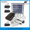 Kit solari di illuminazione di uso della casa dell'OEM con il caricatore del telefono