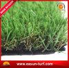 運動場の合成物質の泥炭のための柔らかい景色の人工的な草