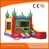 Qualität passte aufblasbaren Prahler, aufblasbares Schloss, Schlag-Haus an (T2-200)