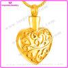 De Juwelen van de Manier van het Geheugen van de Halsband van de Tegenhanger van de Crematie van het Roestvrij staal van de Urn van de Herinnering van de As van het hart (IJD8055)