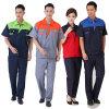 男女兼用作業衣類のWorkwearは短い袖の労働者のユニフォームに適する