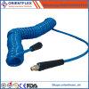 Пневматический спиральн трубопровод возвратной пружины шланга для подачи воздуха катушки PA PU тормозного рукава воздуха трейлера тележки