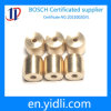 Parti di macinazione d'ottone di CNC di nichelatura, pezzi meccanici di CNC di alta precisione