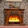 セリウムの公認の家具の彫刻3D LEDはつける電気暖炉(318SS)を