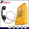 Téléphone imperméable à l'eau Phonedisplay industriel Kntech Knsp-16 du téléphone SIP VoIP de téléphone avec l'affichage à cristaux liquides